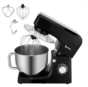 2022 Cake Tools ZOKOP ZK-1511 Chef Machine 7L 660W Mixing Pot With Handle Black