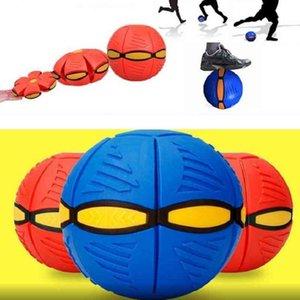 Bola disco tiro plano con luz LED niños, juguete OVNI volador, juego playa y jardín al aire libre, pelotas deportivas para