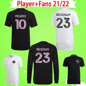 2020 2021 NUEVA camiseta de fútbol INTER MIAMI HOME AWAY blanco negro beckham 20 21 Julián Carranza Ben Sweat Pellegrini MLS CF CAMISETAS de fútbol