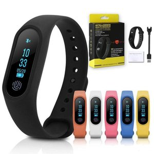 M2 SmartWatch Sport Smart Band Blood Pressure Heart Rate Monitor Fitness Tracker Smart Wristband Mi Band2 With Retail Package