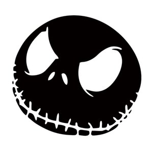 Vehicle Skull Stickers Nightmare Christmas Car Truck Window Attractive Cars Styling Art Vinyl Decal Jdm Sticker Decorate