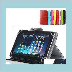 7 8 9 9 10 pollici custodia in pelle multi-colore copertura flip copertina incorporata scatola di cuoio universale in pelle universale per tablet pc 1inkd 9dkcx