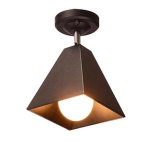 Ceiling Lights Black\White Modern Simple Corridor Light Creative Spotlight Bedroom Lamp Porch Bar