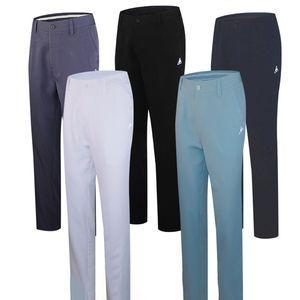 Брюки для гольфа для мужских спортивных повседневных дышащих прямых подходят высококачественные брюки