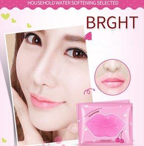 Maschere di labbro di collagene di cristallo rosa idratante Essence cura cosmetica anti rughe patch
