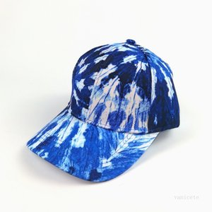Summer Fashion Tie Dyed Baseball Cap Multi Color Adjustable Neutral Versatile Sun Shading Cap Sports Casual Hat T2I52088