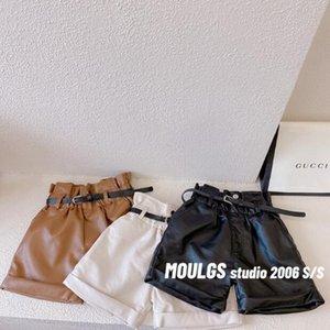 Shorts 2021 Wholesale Girls Leather Thicken Autumn Winter Fashion 2-7t C47