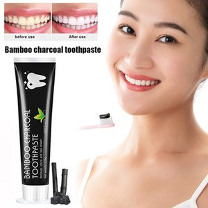 Wholesale Bamboo Charcoal Toothpaste Teeth Whitening Black Removes Stains Tooth Care M3
