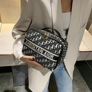 Luxury handbags Cosmetic 2021 new large capacity cosmetic Storage Bag Travel Portable women's small portable bag