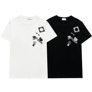 21SS Mens Donne Designer T Shirt MAN Fashion Men S Casual T-Shirt Street Shorts Sleeve Womens Abbigliamento Hiphop Top Quality Magliette