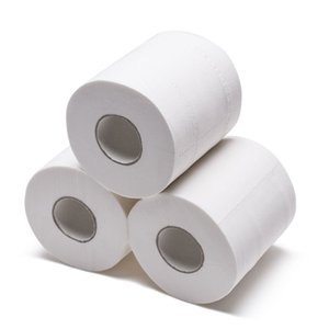 Napkins White Toilet Paper Rolls Tissue Pack Of 10 Rolls Lot 3Ply Towels Household