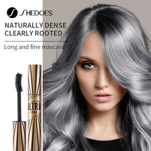 SHEDOES waterproof black slim Mascara with long curl and dense 10ml eye makeup for a natural, long-lasting No shading eyelash Cosmetics