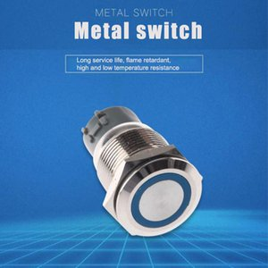 Switches Manufacturer direct metal button switch diameter 12MM16MM19MM22MM reset with light and lock buttons