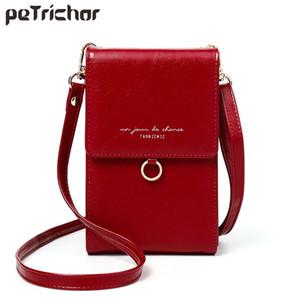 Luxury Women Phone Messenger Bag Leather Mini Summer Shoulder s Ladies Coin Purses Crossbody Fashion Brand Female Wallets 210908