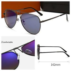 Mens Sunglasses Luxo Retro Retro Polarized Moda Natural Esportes Completamente Quadro Designer Sun Óculos De Lentes De Prata OCULOS