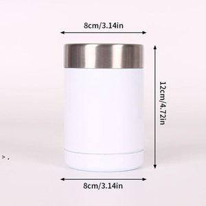DIY Sublimation Blank Water Bottles 12oz can cooler Car Coffee Mug Beer Cold Storage Tank 304 Stainless Steel Vacuum Insulated HWD9254
