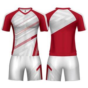 Custom Football Jersey Designs Soccer Sets Kits Football Jerseys Subliamtion Camiseta Soccer Uniform Football Shirt For Man
