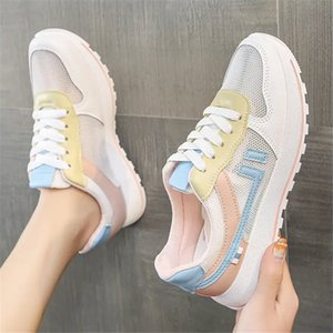 Summer mesh low-top breathable women shoes flat bottom shoes fashion casual women shoes size 35-40