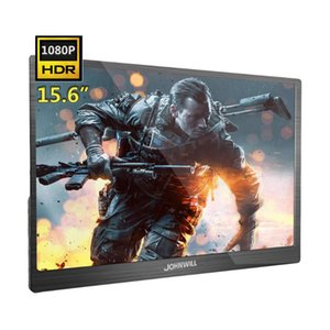 Upgrade 15.6 Inch Portable HD Display HDR 1080P FHD Gaming Monitor PC IPS Type C PS4 For Xbox Switch Monitors