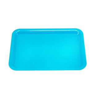 Honeypuff Portable Rolling Tray Plastc Cigarette Container Tray Smoking Tobacco Plate Hand Roller Tobacco Storage Tray 416 R2