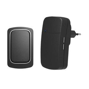 Doorbells Self-powered Wireless Remote Control Doorbell Pager Penetration IP68 Waterproof Strong Signal L80*W50*H28mm