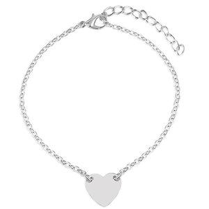 Девушка мода простые сердца браслет браслет цепь пляжный пешком сандалии ювелирные изделия C00021 Smad 183 R2