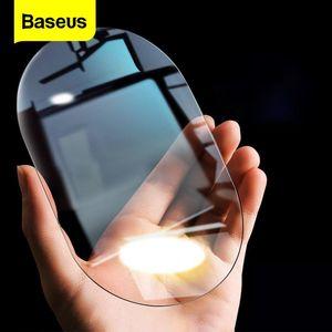 Baseus 2Pcs Car Rearview Mirror Rainproof Film 0.15mm Clear Rear View Anti Fog Protective Films Window Foils Sticker Sunshade