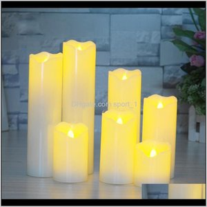 Electronic Candles Bright Flickering Bulb Equipped With Usb Charging Cable Flameless Led Tea Light For Festival Electric Fake Candle 1 Sz714
