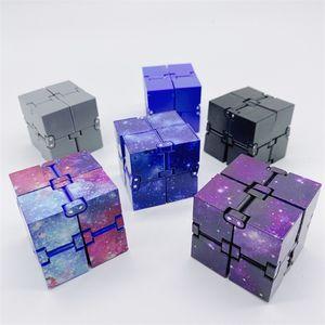 Infinity Cube Creative Sky Magic Fidget Antistress Toy Office Flip Cubic Puzzle Mini Blocks Decompression Funny Toys