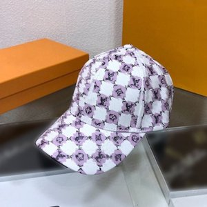 Classic Baseball Caps Summer cap beanies Casquette women outdoor Simple Adjustable Snapback Beanie PU Sun Hats boxs high quality