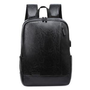 Weysfor 2021 Fashion PU Leather Backpack Female Male Travel Laptop Large Capacity Designer Bagpack Black Plaid Mochila