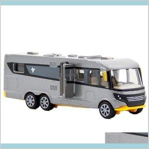 Siku Alloy Motorhome Car Toy Simulation Camping Rv Model Bus Toys For Children Gift Trailer Lj200930 Gifts Diecast Biywe
