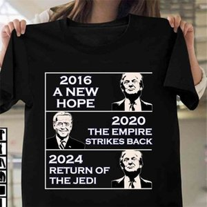 2024 Trump Biden American Presidential Election Letters Printed T-shirt Fashion Summer Boys Girls Short Sleeve Top Tees Casual Clothes Plus Size G857WM9
