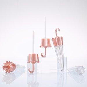 Storage Bottles & Jars 5.5ml Umbrella Shape Lip Gloss Tubes Empty Bottle Glaze Container DIY Tube Shell For Lipgloss Base Gel Oil