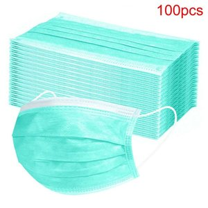50pc Ski Face Maksk for Protection Disposable mask Masque Dechabl Halloween Cosplay Mask Digner Cover Women
