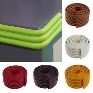 Corner&Edge Cushions OOTDTY 2M W Shaped Bar Baby Safety Table Desk Edge Furniture Corner Cushion Protector Bumper Strip Children Guards