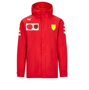 2021 Super F1 Formula One Racing Waterproof Jacket Team Service Fans Racing Suit Custom Jacket Windbreaker Warmth