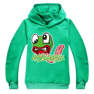 Hoodies & Sweatshirts Unspeakable 2021 Round Neck Cotton Spring And Autumn Children's Hoodie Boys Girls Printed Casual Fashion Clothing