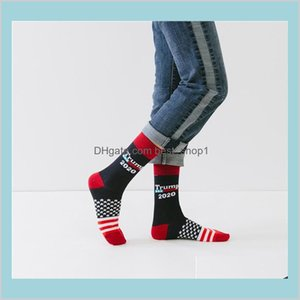 Us Trump 2020 Sports Sock 4 Styles Trump Usa Flags Pattern Lovers Stocking Fashion Hose Fit Men Woman Zjy679 Jarbr Zyzal