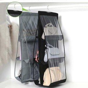 Bolso bolsa de suspensão dobrável 3 camadas Bolsa de prateleira dobrável bolsa de bolsa do organizador da porta Sundner Gancho de armazenamento