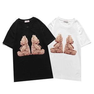 Designer di alta qualità T Shirt da uomo Donna Black Bianco Estate Moda Casual Street T-shirt Lettera Stampa Lusurro 100% cotone