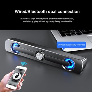 Mini Speakers 3.5mm Jack Wired Bluetooth-compatible Clear Stereo Sound Portable Audio Outdoor Indoor For In-car Music