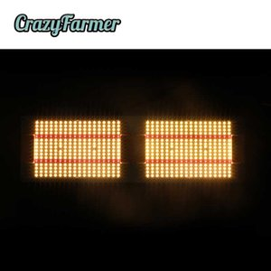 Geeklight 240W Crazy Farmer Quantum LED выращивает свет Света Samsung LM301B LM301H Полный спектр Предметим Printrum Frath Lights Lights