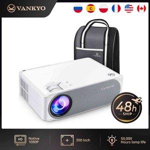 Vankyo V630 V630W Full HD Projector 1080P Home Cinema WIFI Sync Screen 3Year Warranty VGA for 4K Video Proyector