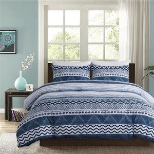 Dropship Fashion Bohemia Bedding Color Bedroom Set Comforter Cover Pillowcase Luxury Bed Linen Queen King Double Size 2 3pcs Sets
