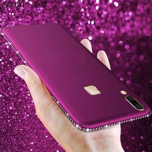 Lüks Bling Elmas Telefon Kılıfı Için Huawei P Akıllı Mate 10 20 Onur 9 P20 P30 Pro P8 P9 Lite 2021 Rhinestone Yumuşak Silikon Kapak Cep Kılıfları