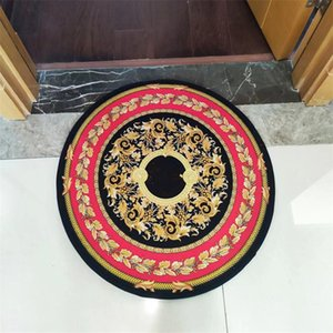 retro ronded carpet fashion rug home living room carpets high quality luxury design no-slip mat Selected high-end soft