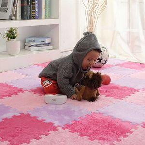 Thicken 10PCS SET Baby EVA Foam Puzzle Play Mat kids Rugs Toys carpet for childrens Interlocking Exercise Floor Tiles 30*30*1CM H0831
