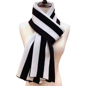 Man winter cashmere scarf high-end soft thick design wool Pashmina shawl Scarves stripes plaid neckerchief fashion men's and women's wraps 30*170cm