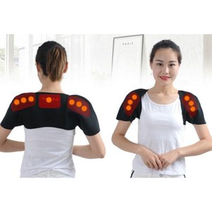 Self Heating Universal Comfortable Shoulder Back Support Breathable Thermal Wrap Protector Warmer Brace For Pregnants